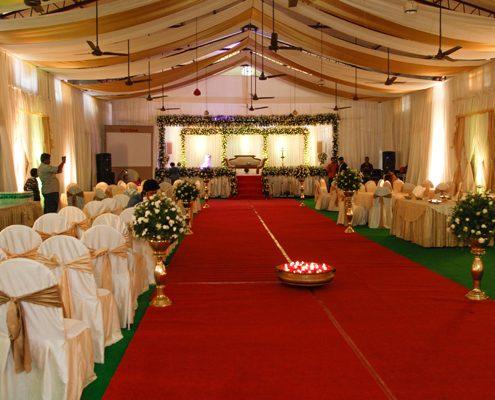 covor rosu nunta