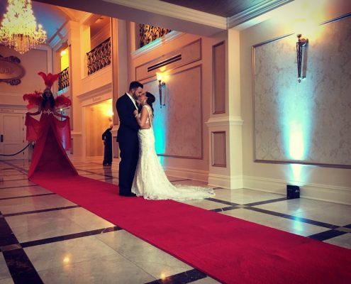 covor nunta